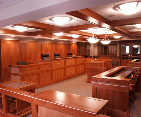 Franklin Pierce Law Moot Court Room