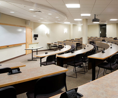 UNH Law Lecture Rooms