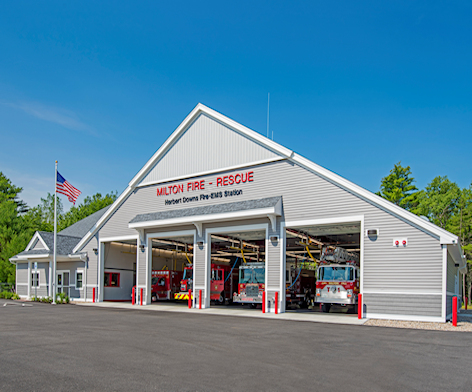 Milton, NH Fire & Rescue Facility